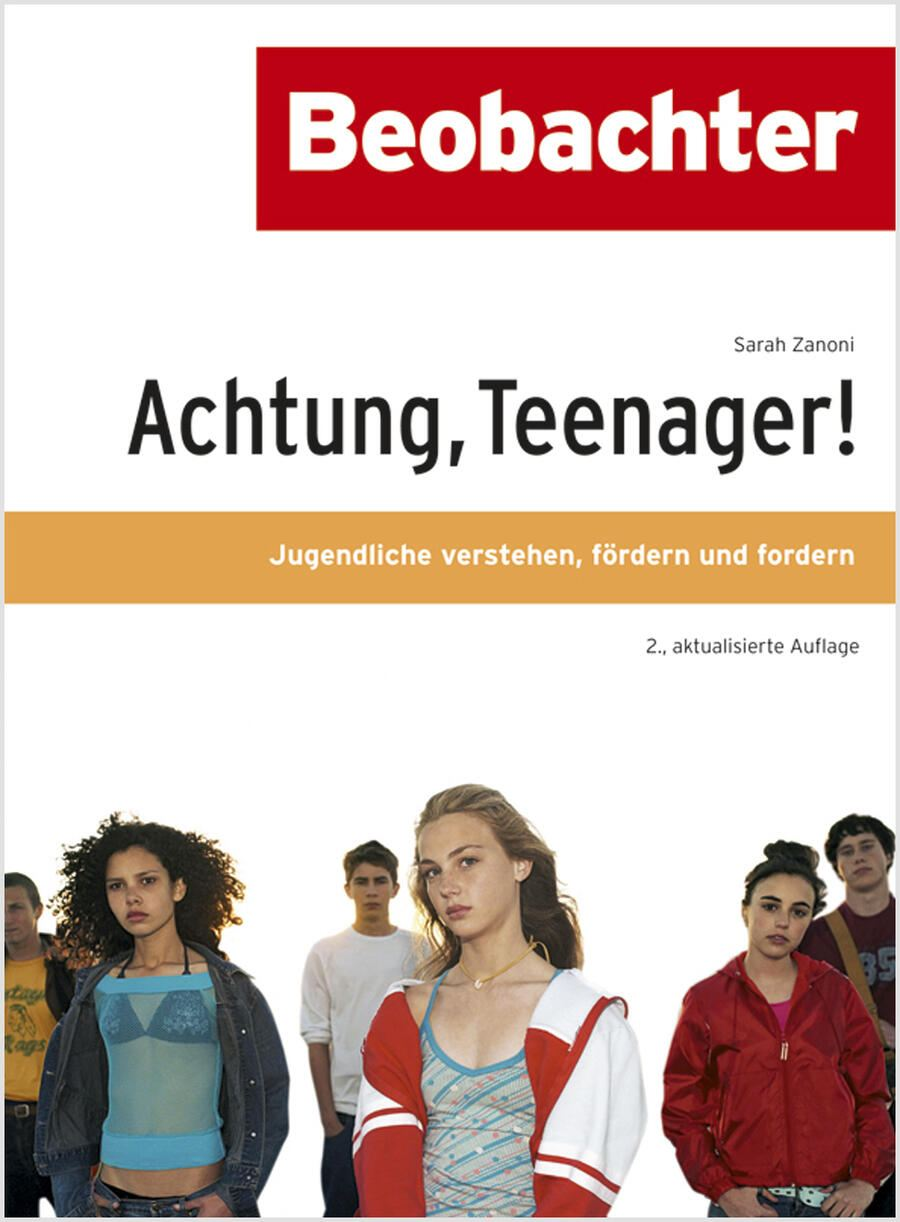 Buchcover: Achtung, Teenager!