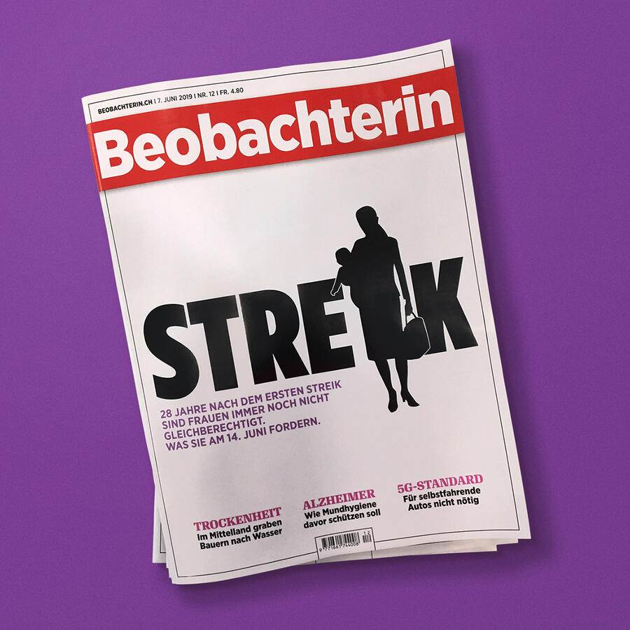 Beobachterin Heftcover
