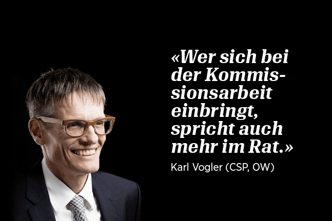 Nationalrat Karl Vogler
